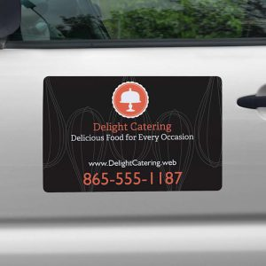 car magnet color black