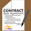 a basic design of a contract template